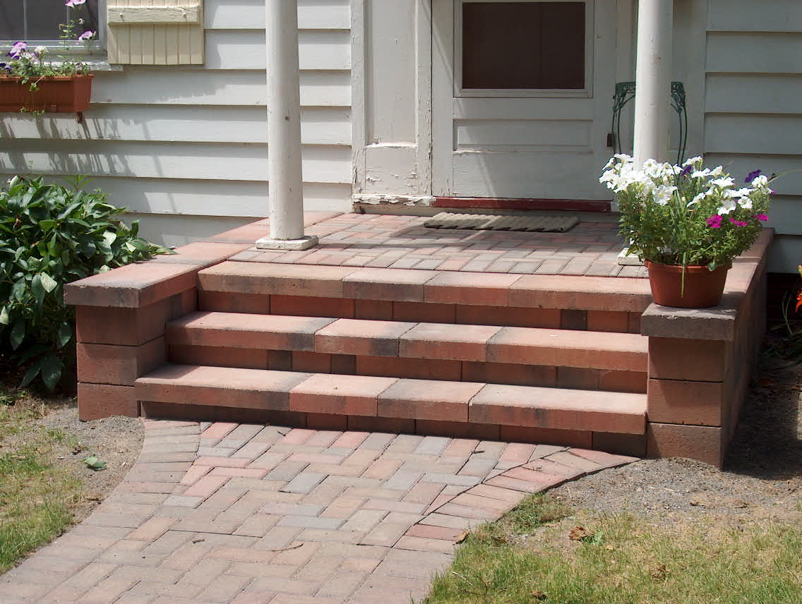 Live With What You Love: Should you have Marvellous Brick ... on Backyard Steps Ideas id=39681