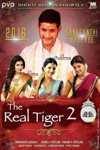 The Real Tiger 2 (2017) HDRip 480p Hindi Dubbed 400MB