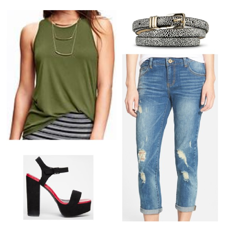 2b4ae5cf52240 How to Wear a High-Neck Tank Top | Style Major