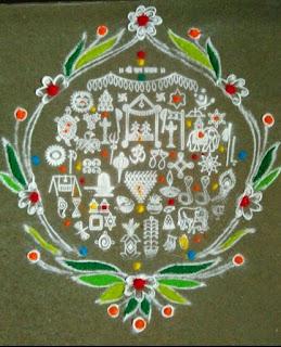 Creative Rangoli Collection