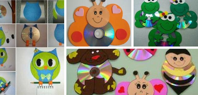 29 Atividades com CDs reciclados