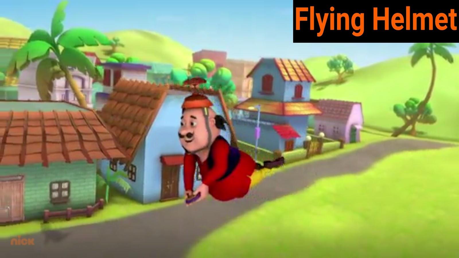Motu Patlu Ki Kahani Episode 13 Flying Helmet