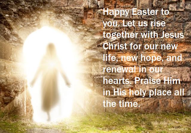 10 Gambar kartu ucapan Paskah (Kebangkitan Yesus) terbaru 2018