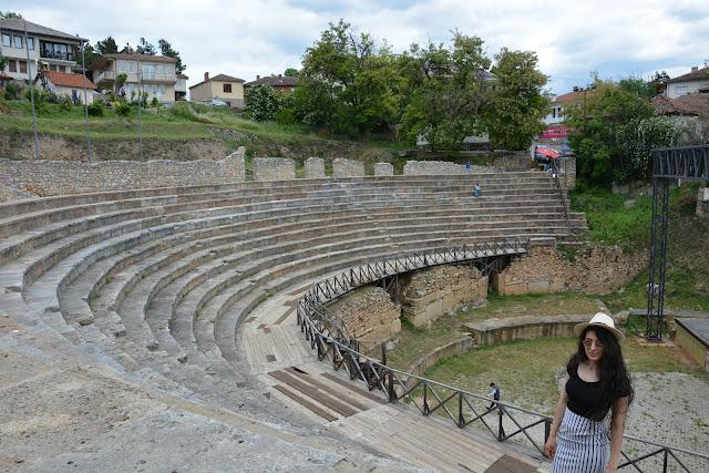 Antik Tiyatro, Ohrid