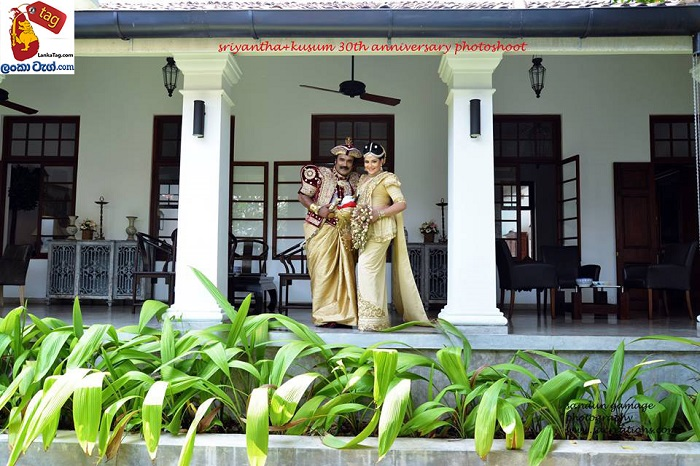 Sriyantha Mendis And Kusum Renu 30th Wedding Anniversary Photo Shoot 6