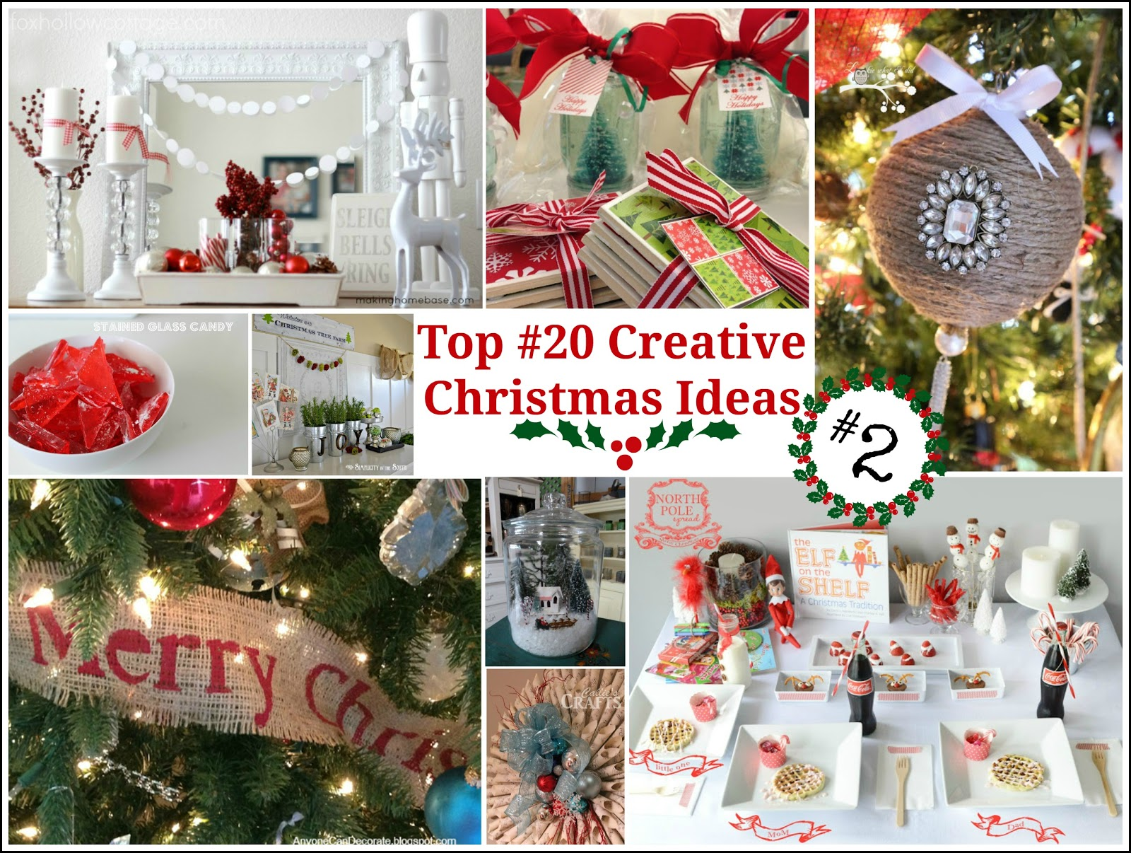 & Decorating With Urns Christmas Edition - Fox Hollow Cottage