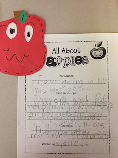 Apples, Apples, Apples - First Grade Roars!