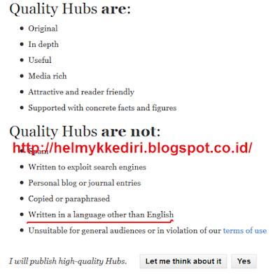 Cara mendapatkan backlink dari HubPages
