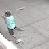 VÍDEO: Hispano en Brooklyn destruye a batazos cristales frontales de iglesia