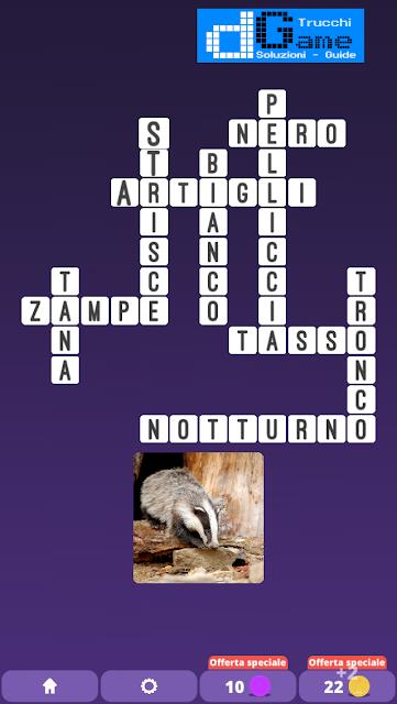 Soluzioni One Clue Crossword livello 2 schema 11 (Cruciverba illustrato)  | Parole e foto