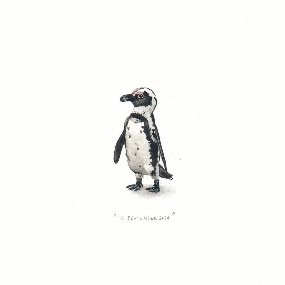 14-The-African-Penguin-Loots-Tiny-Miniature-Mixed-Media-Animals-and-Architecture-www-designstack-co