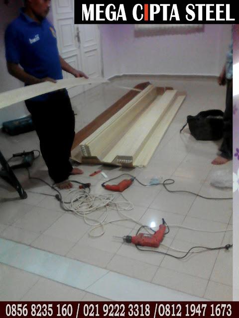 Gambar Folding Door Sekat Ruang PVC Jakarta Bekasi Bogor Karawang
