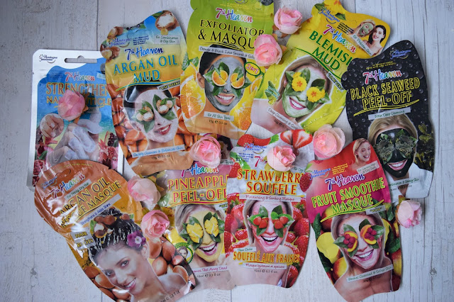 What Cat Says - Beauty | 7th Heaven Masks Haul