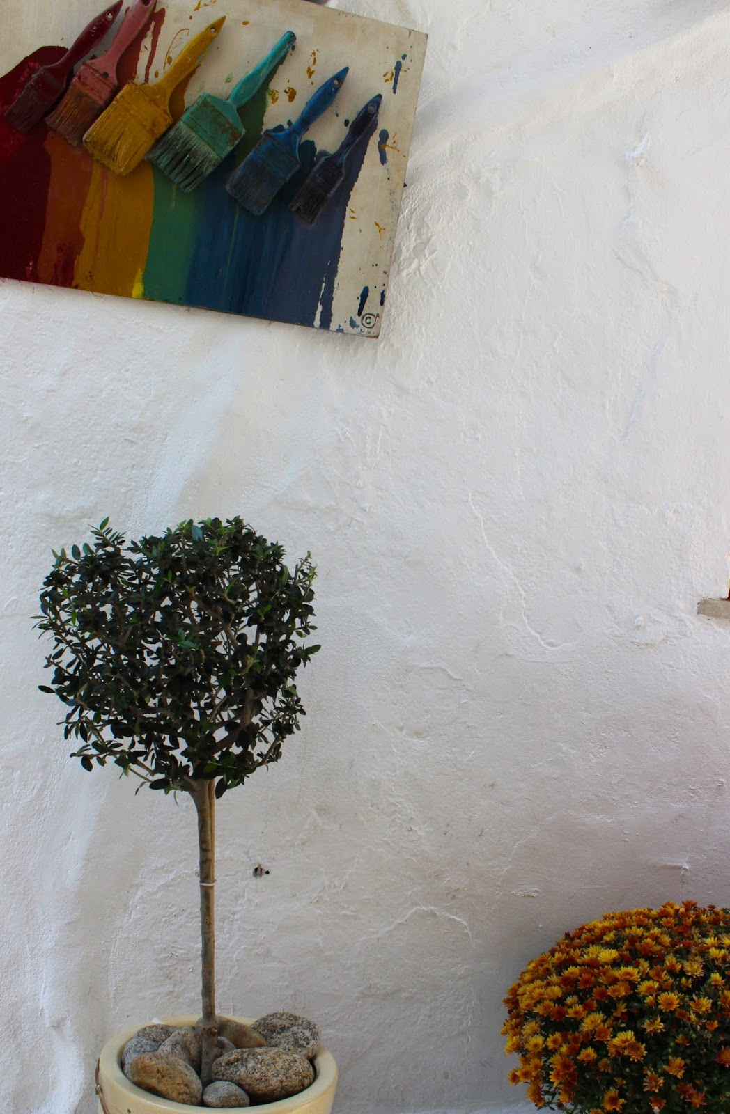 Mykonos Art Decor