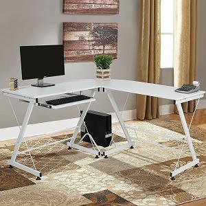 top 10 best computer desks under 100 techcinema. Black Bedroom Furniture Sets. Home Design Ideas