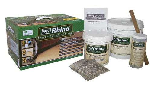 Diy Rhino Epoxy Floor Coating Kit House Painting Tips
