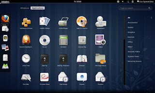 Gnome interface
