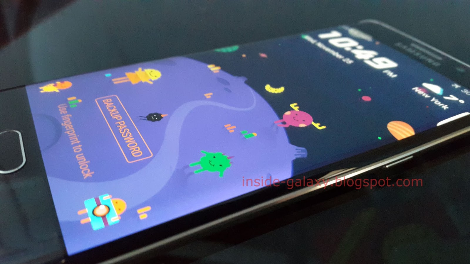 Samsung Galaxy S6 Edge How To Change Themes In Android 5 1 1 Lollipop