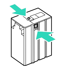 Change the cartridge Epson WF-M5190DW