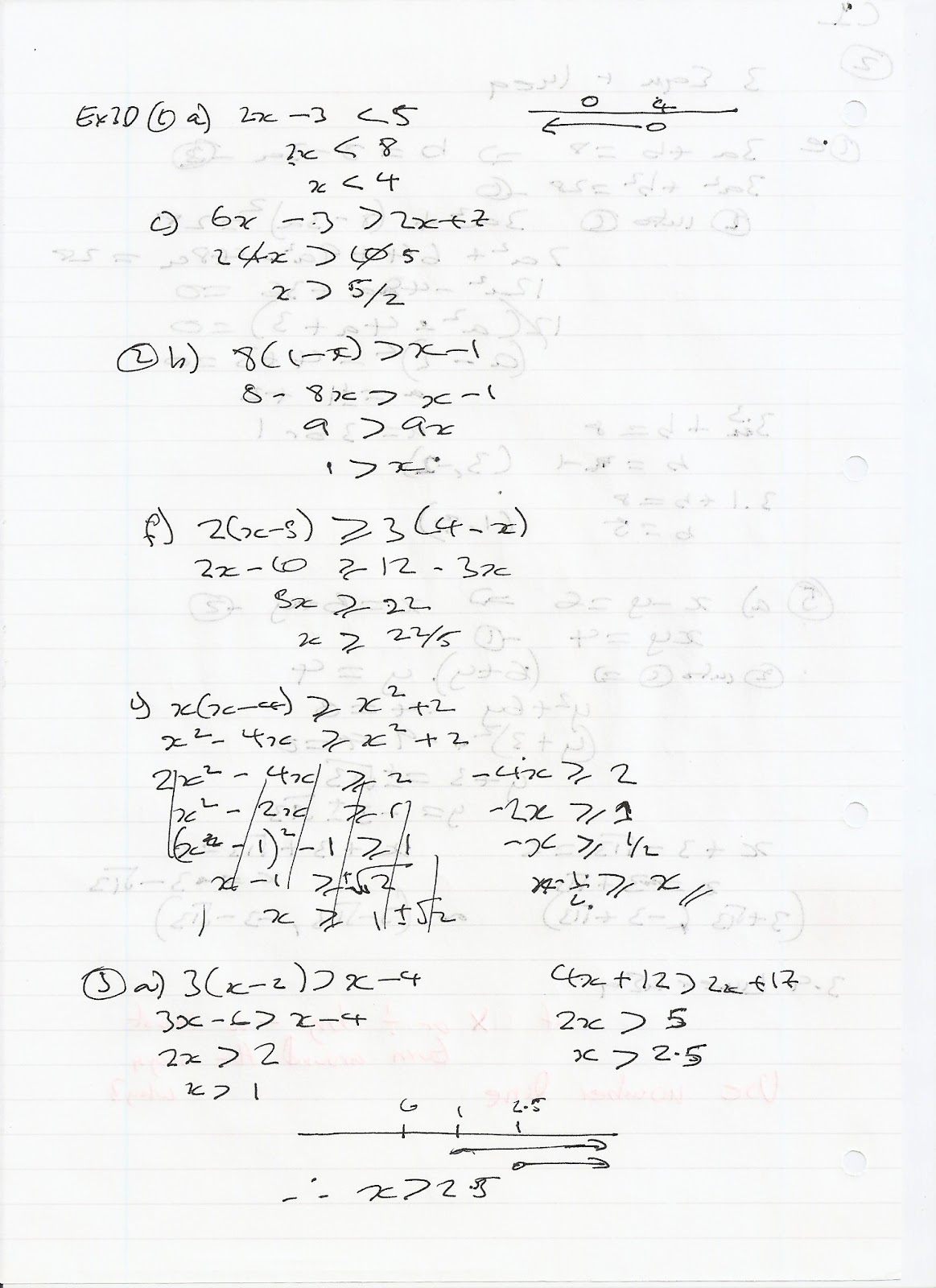 A Level Maths Notes Edexcel C1 3 Equations And Inequalities