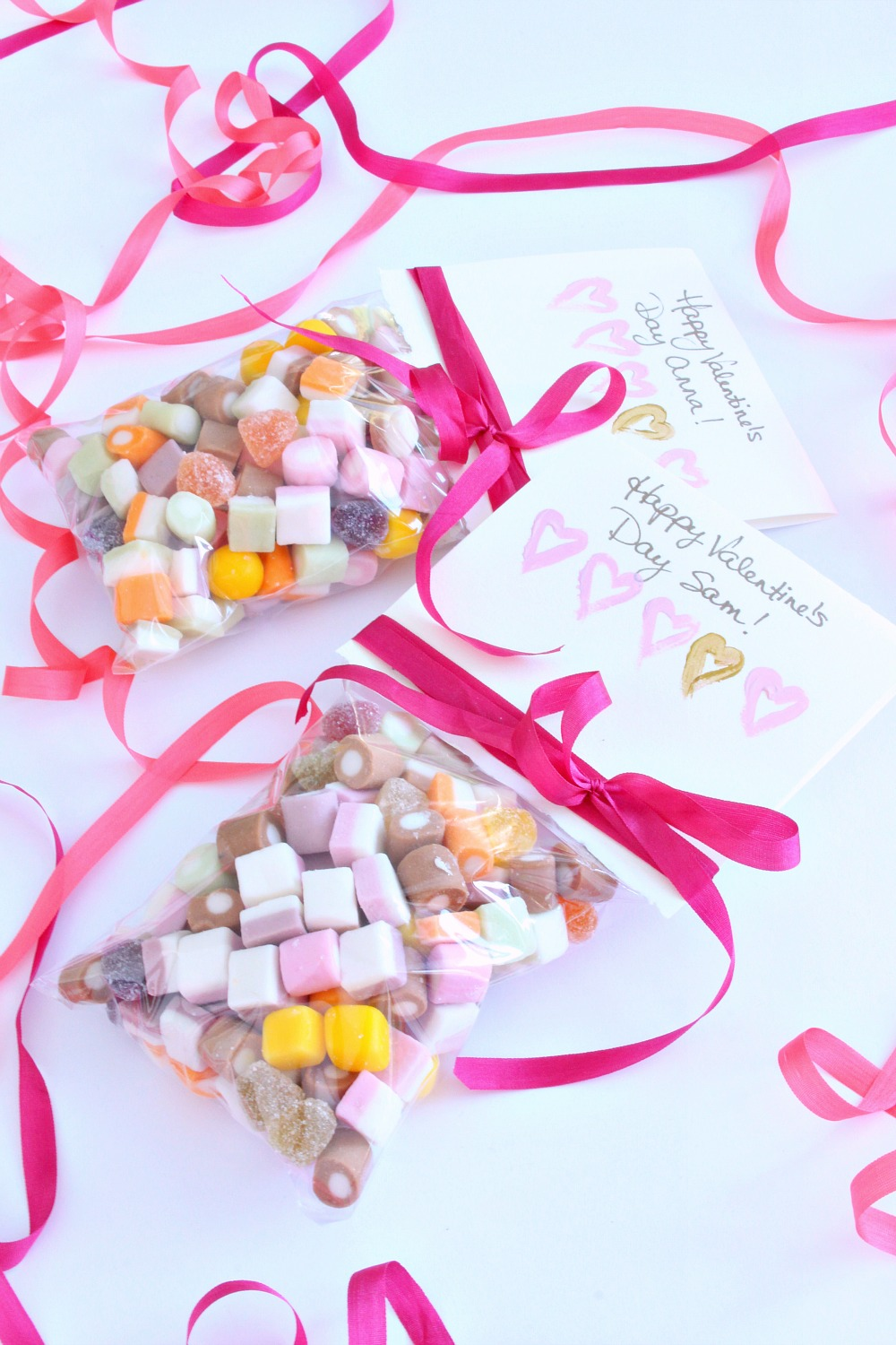 Candy Stuffed Valentine Card