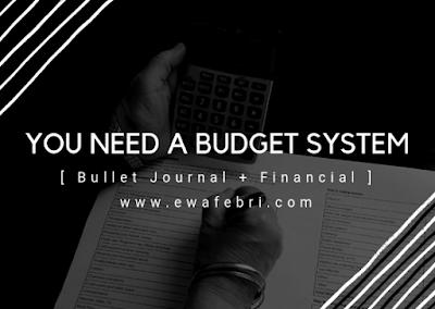 You need a budget system