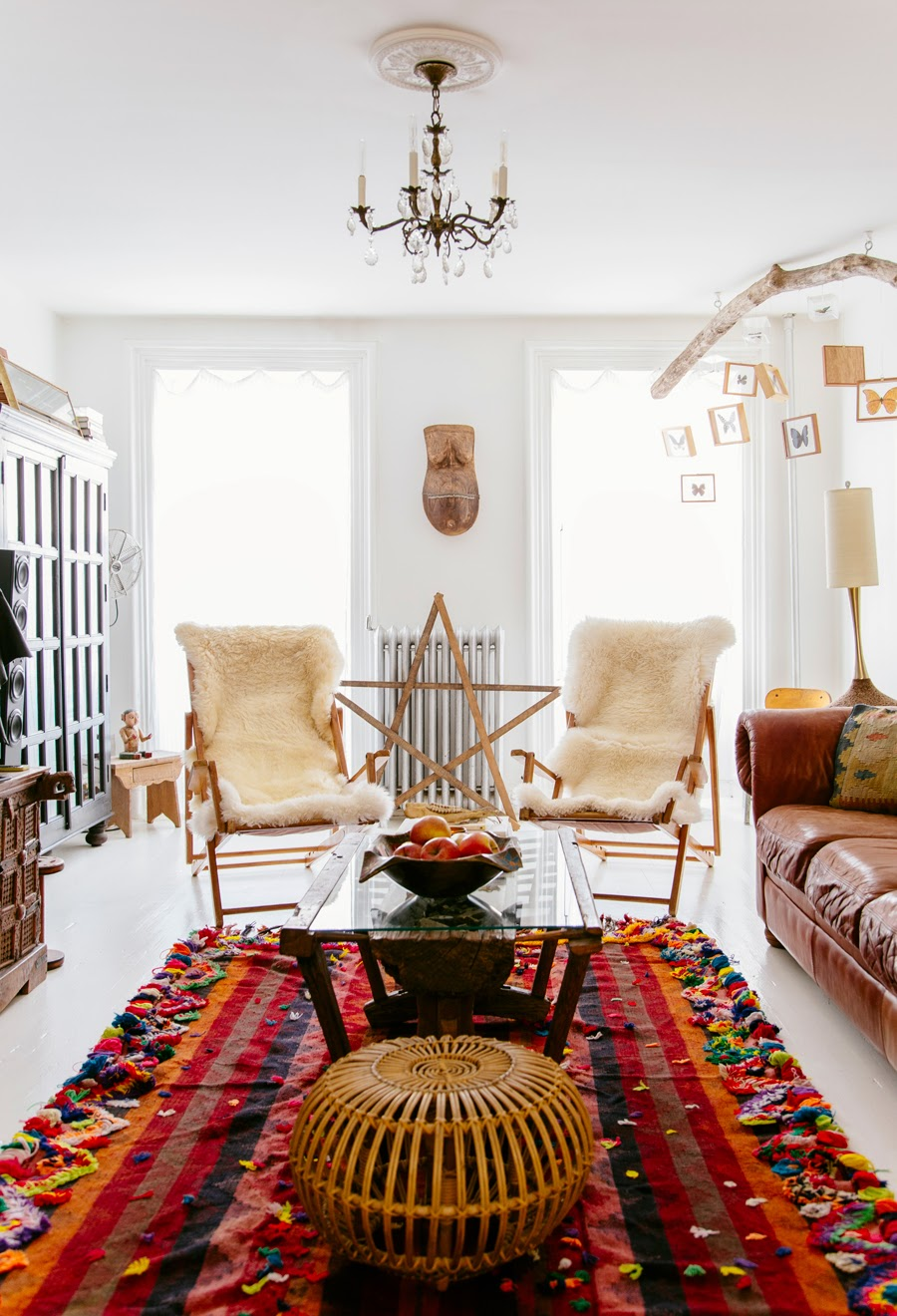 Interior Boho Design Living Room Home Decor: Inspiration: Bohemian Interiors