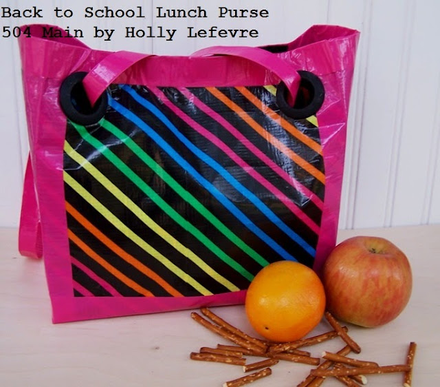 Back to School Lunch Purse by 504 Main