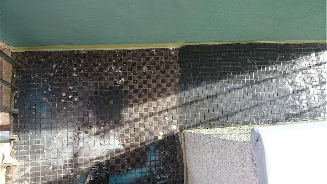 podłoga na balkon