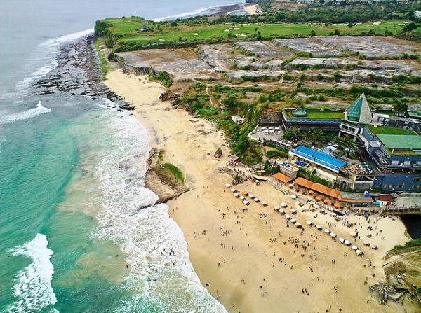 foto Pantai Dreamland Bali