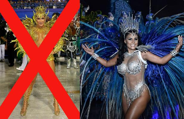 Angolana Carmen Mouro será a nova rainha de bateria da Mocidade para o Carnaval 2017 do RJ!