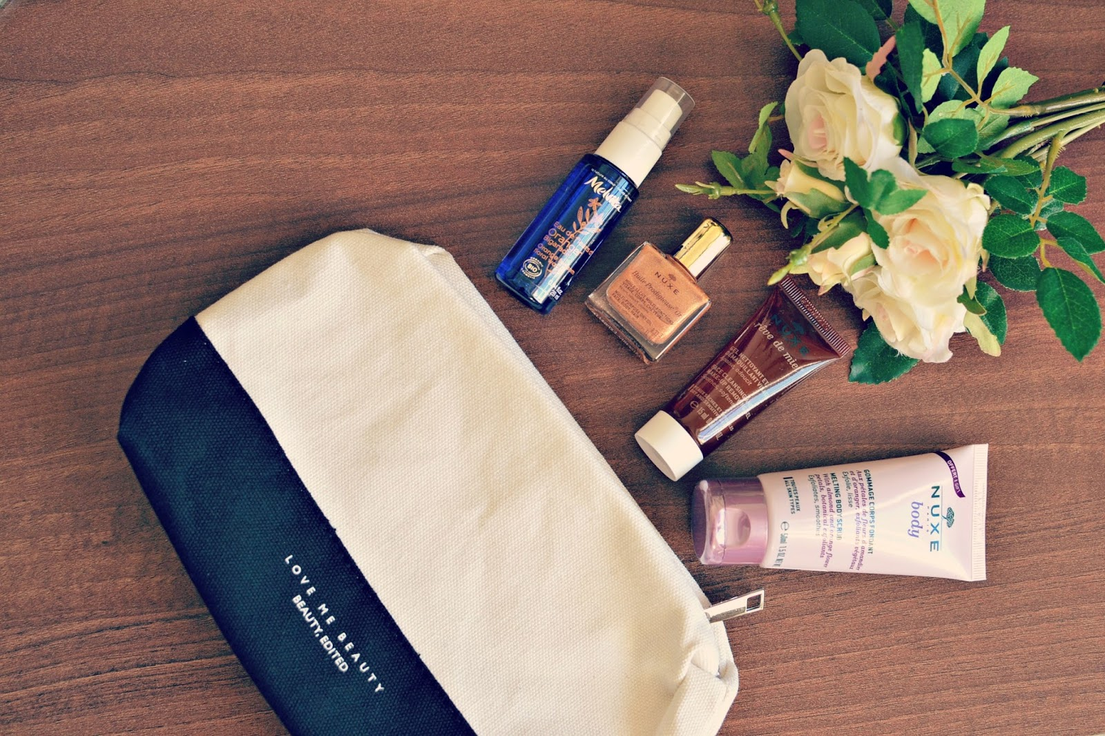 love me beauty beauty bag review April