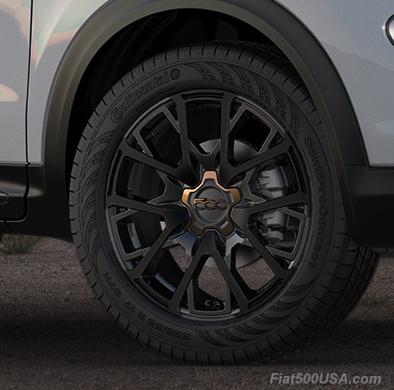 Fiat 500X Urbana Wheel