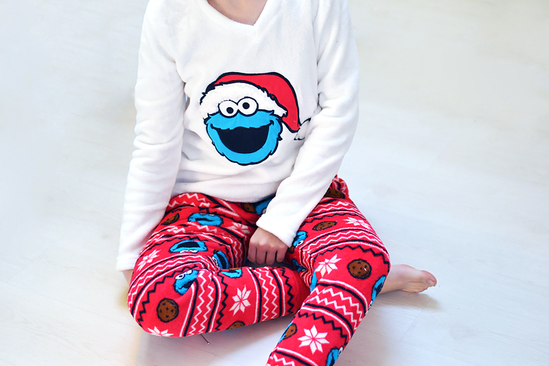 Turn it inside out // Primark winter pj's