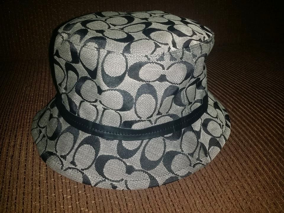 a6060ddb404 The Black Dickie s  Coach Signature Bucket Hat