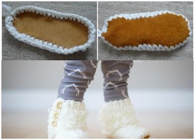 Como hacer Botas Bucle Crochet Antideslizantes