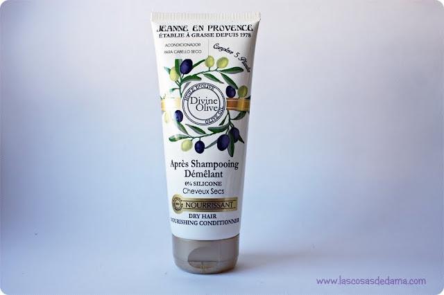 Divine Olive Jeanne en Provence dry hair belleza cabello