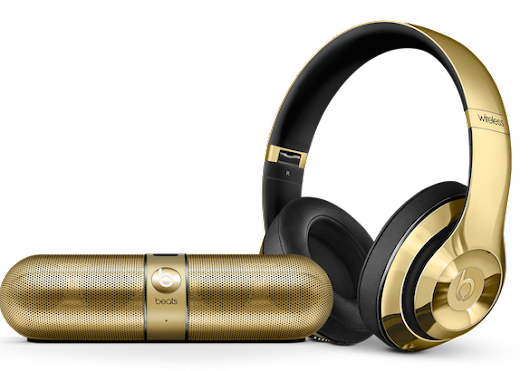 Beats by Dr. Dre Launched Premium Gloss Gold Edition  | HDpixels