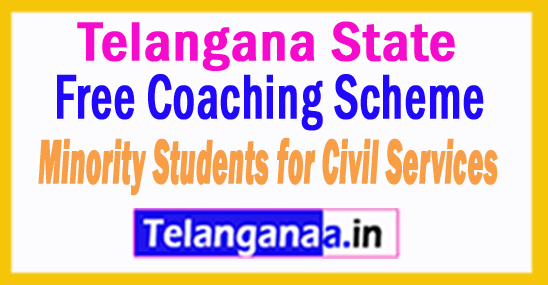 Free Coaching Scheme for 100 Minority Students for Civil Services Exam in Telangana
