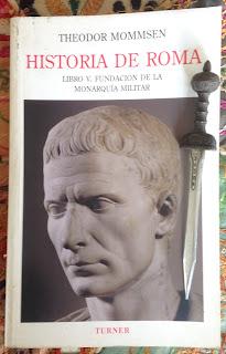 Portada del libro V de Historia de Roma, de Theodore Mommsen
