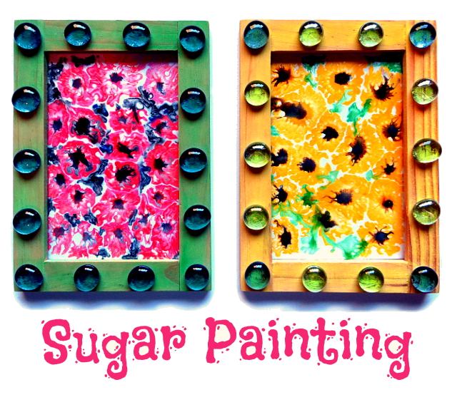 sugar watercolor painting for kids