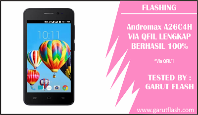Flashing Smartfreen Andromax A26C4H QFIL Tested 100%