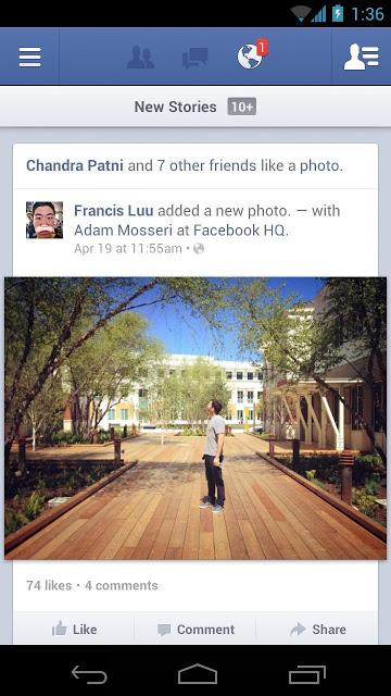 تحميل فيسبوك للأندرويد
