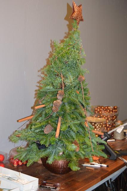 Flere eksempler på juletrær