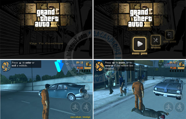 free download Game Grand theft auto III GTA 3 Lite Versi Rip Highly Compress Apk Data