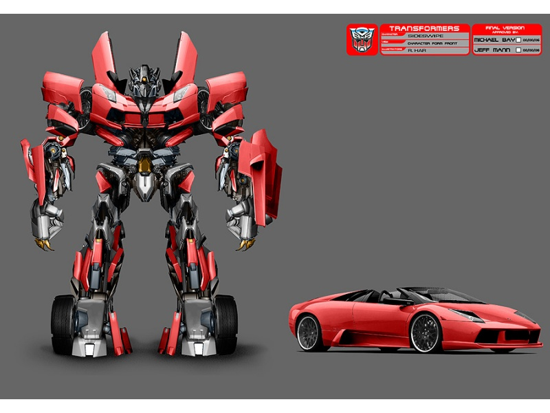 My Pc Defender Here S New Robot In Movie Transformers 4