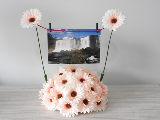 Diy porta fotos