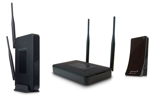 Amped Wireless R20000G, SR20000G, dan UA2000: Router, Repeaters, and Adapters
