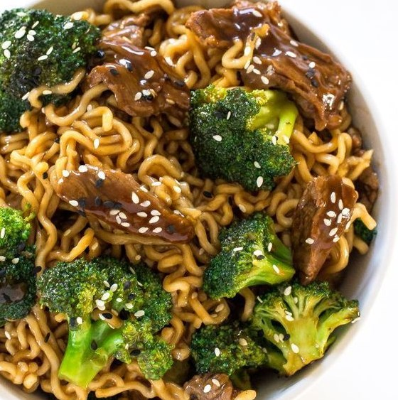 Beef and Broccoli Ramen #Ramen #Noodles