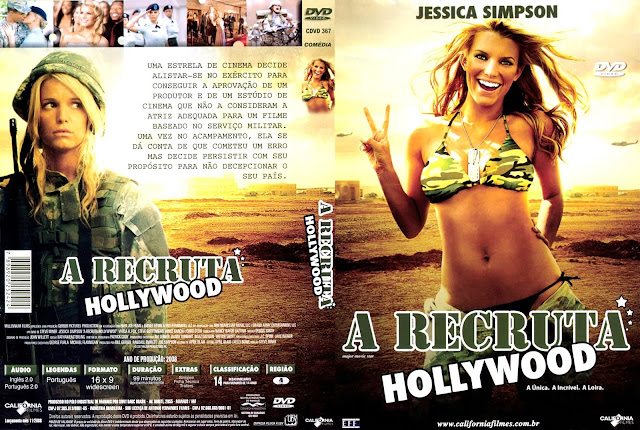 Capa DVD A Recruta Hollywood